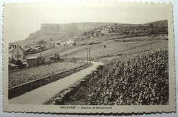 STATION PRÉHISTORIQUE - SOLUTRÉ - Macon