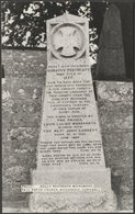Dolly Pentreath Monument, Paul Parish Church, Cornwall, C.1950 - RP Postcard - Other