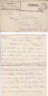 Feldpostbrief Mit Inhalt - K.k. Landwehr-Inft. Regiment Wien Nr. 1 - 1917 (35669) - Briefe U. Dokumente