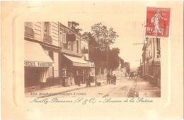 Dépt 93 - NEUILLY-PLAISANCE - Avenue De La Station - Édit. Bouchereau, Couleurs Et Vernis (écrite Par Bouchereau) - Neuilly Plaisance