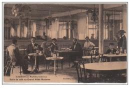SAINT SERNIN SUR RANCE : Salle De Café Du Grand Hôtel Moderne - Bon état (une Tache Au Verso) - France