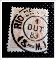 BRESIL - 200 Reis -  Rose  -  1881/84 -  Empereur Dom Pedro II - Obliteré - Used Stamps