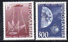 YUG87A - YUGOSLAVIA 1958, Posta Aerea Serie Unificato N. 770+aerea  *** - 1945-1992 Repubblica Socialista Federale Di Jugoslavia