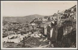 The Town, Gibraltar, C.1950 - Rex RP Postcard - Gibraltar