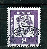 Bund 1961: Mi.-Nr. 349 X, Bedeutende Deutsche - [7] Federal Republic