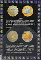 Euro Moneta Itaiana 1 Euro 2 Euro - Monete (rappresentazioni)