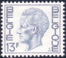 198 Belgium King Roi Baudoin Beaudoin 13f MNH ** Neuf SC (BEL-258b) - Royalties, Royals