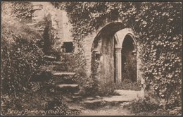 Guard Chamber, Berry Pomeroy Castle, Devon, C.1920 - Frith's Postcard - England