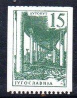YUG89B - YUGOSLAVIA 1959,  Serie Unificato N. 7999  ***  Ordinaria Roulette - Nuovi