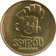 84 VAUCLUSE MONTEUX PARC SPIROU MÉDAILLE MONNAIE DE PARIS 2018 JETON TOKEN MEDALS COINS - 2018