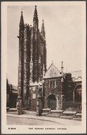 The Parish Church, Totnes, Devon, 1913 - Kingsway RP Postcard - England