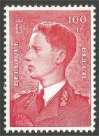 198 Belgium 1952 Baudouin 100 Fr MNH ** Neuf SC (BEL-618a) - Belgium