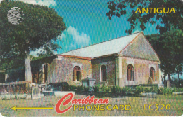 ANTIGUA & BARBUDA(GPT) - St.Georges Anglican, CN : 18CATF(0 With Barred), Tirage 27200, Used - Antigua And Barbuda