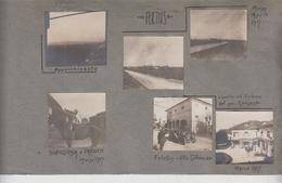 Felettis Udine Fotografie Originali Militari Guerra 1917 Villa Colloredo  G/p - Guerra, Militares