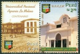 PERU 2002 LA MOLINA AGRICULTURAL UNIVERSITY PAIR** (MNH) - Peru