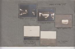 S. Maria La Longa Udine Fotografie Originali Militari Guerra 1917 Farman In Volo G/p - Guerra, Militares