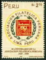 PERU 1999 PHILATELIC ASSOCIATION, STAMP-ON-STAMP** (MNH) - Peru
