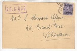 Belgique . Comptoir Belge De Répartition Des Charbons Allemands. TP OC43 - Guerre 14-18