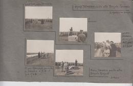 S. Maria La Longa Udine Fotografie Originali Militari Guerra 1917  Brigata Teramo / Brigata Girgenti G/p - Guerra, Militares