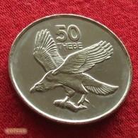 Botswana 50 Thebe 2001 KM# 29  Botsuana - Botswana
