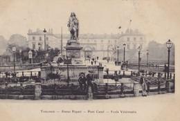 TOULOUSE - Statue Riquet - Pont Canal - Ecole Vétérinaire - Toulouse