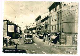 M6670 PIEMONTE Alessandria Cristo Bus 1957 Viaggiata - Alessandria