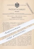 Original Patent - Josef Hrubý , Ober Libochau / Mähren , 1895 , Schüttelsieb Für Dreschmaschinen | Dreschen , Drescher ! - Documenti Storici
