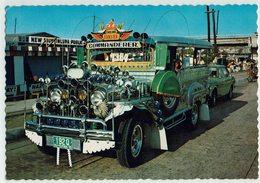 (025..356) Phiippinen, Manila, Bus, Commanderer - Ansichtskarten