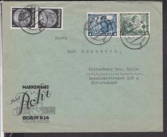 Brief Deutsches Reich Zusammendruck 1934 - Germany