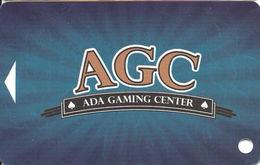 Ada Gaming Center / Casino - Ada, OK - Slot Card - List Line Starts Reverse 'individuals' - Casino Cards
