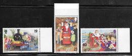 Isle Of Man - 1994 Christmas - 3v MNH - Isola Di Man