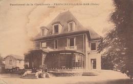 Rhone : FRANCHEVILLE-le-BAS : Pensionnat De La Chauderaie ( Entrée ) - Frankreich
