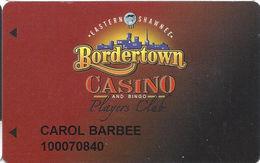 Border Town Casino - West Seneca, OK - Hard To Find 4th Issue Slot Card - Cartes De Casino