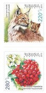 Armenia MNH** 2015 Flora And Fauna Of Armenia 75th Anniversary Of The Foundation Of The Yerevan Zoo And Botanical Garden - Arménie