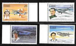 Ireland / Eire - 1998 Pioneers Of Irish Aviation - 4v MNH - Neufs