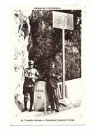 Cpa - FRONTIERE ITALIENNE - DOUANIERS FRANCAIS ET ITALIEN - Grimaldi  Ventimiglia - 5842 MA - Dogana