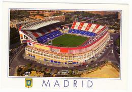 Tarjeta Postal. Estadio Vicente Calderón - Edifil 3983 - Centenario Del Club Atlético De Madrid - Madrid