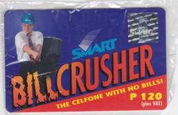 Philippines, PHI-smart-50.02, SMART Billcrusher, Mint In Blister, 2 Scans. Exp. : Dec. 31, 2000 - Philippines