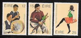 Ireland / Eire - 1980 Traditional Music & Dance - 3v MNH - Neufs