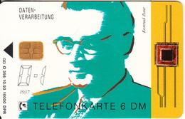GERMANY(chip) - Konrad Zuse(O 356), Tirage 10000, 10/93, Used - Germania