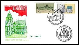 01548) BRD - Mi 860 / 863 - 2 FDC - Denkmalschutzjahr - [7] República Federal