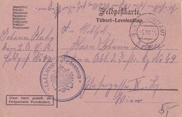 Feldpostkarte K.u.k. 1. Armee-... Kommando - Feldpostamt 12 - 1915 (35678) - Briefe U. Dokumente