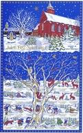 Denmark; Scouting;  Local Christmas Seals - Nykøbing F.  Full Sheet 1982.  MNH ** - Not Folded - Padvinderij