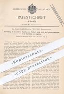 Original Patent - Dr. Carl Carossa , Pilsting , Bayern , München  Landau | Troikart , Trokar | Punktion , Medizin , Arzt - Documenti Storici