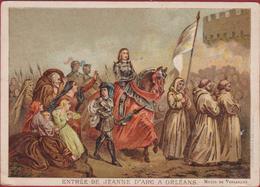 Chromo (Liebig Style) Joan Of Arc Jeanne D' Arc  Entree A Orleans - Thé & Café