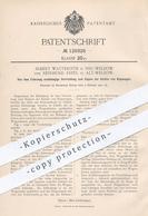 Original Patent - Albert Watteroth , Reinhold Erpel , Welzow / Cottbus , Dresden , 1901 , Kippen Der Kästen V. Kippwagen - Documenti Storici