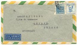 Brazil 1947 Airmail Cover Rio De Janeiro To Geneva, Switzerland - Brazil