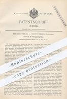 Original Patent - Eduard Weigel , Greiffenberg / Schlesien / Uckermark , Untersatz Für Flüssigkeitsgefäße | Bier - Glas - Documenti Storici