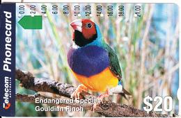 AUSTRALIA - Bird, Gouldian Finch, Used - Ohne Zuordnung