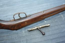 Ancienne Carabine De Jardin 9 Mm - Decorative Weapons